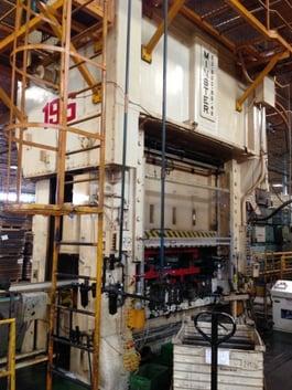 1980 Minster E2-800 800 Ton SSDC Press (#1455)