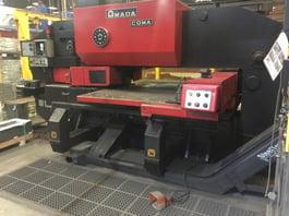 1987 Amada Coma 555 50 Ton CNC Turret Punching System (#1599)