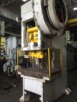 Minster G1-110 Fixed Base Gap Frame Press (#1655)