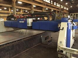 2004 Messer MG Titan 12/10 Oxy Fuel Cutting System (#1683)