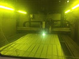 2011 Messer MG Fiber Laser/Plasma Cutting System (#1778)