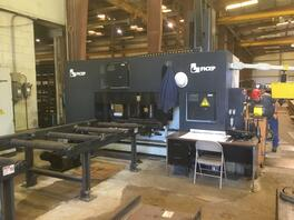2010Ficep 1001DFB Laser CNC Drilling and Sawing Line (#1834)
