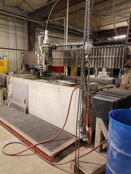 1996 Flow A-Series Waterjet Cutting System (#1945)