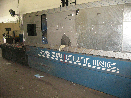 2001 Lasercut LM60120PS Fiber Laser Cutting System (#1990)