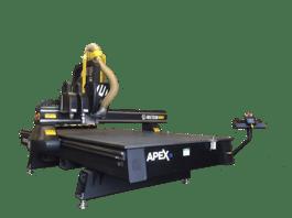 2017 Multicam 3-207-R16 APEX3R CNC Router Table (#2023)