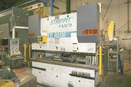 1999 LVD PPEB 90-08 8-Axis CNC Press Brake (#2029)