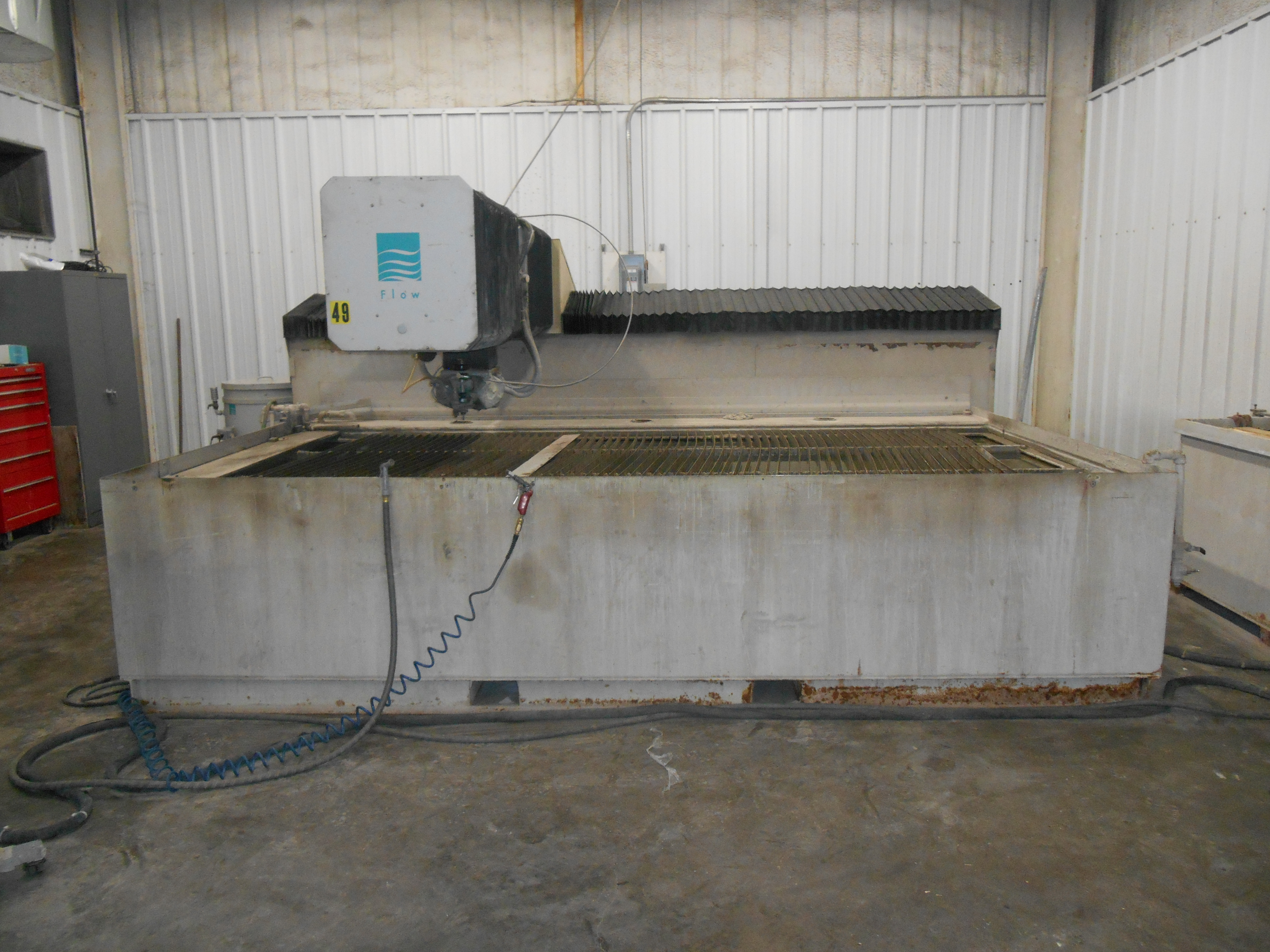 2008 Flow IFB 6012 Waterjet Cutting System (#2062)