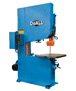 NEW DoALL ZV-3620 Vertical Contour Band Saw (#2082)
