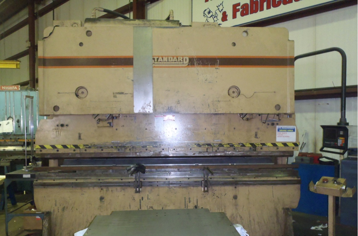 2000 Standard Industrial AB325-12 Hydraulic Press Brake (#3001)