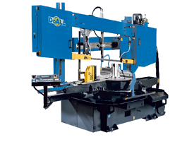 DoALL DCDS-600SA Dual Column Semi Automatic Band Saw (#3040)