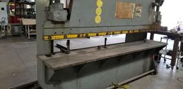 Verson 60 Ton Mechanical Press Brake with Flanged Bed (#3067)