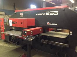 1999 Amada Vipros 255 CNC Turret Punch (#3095)