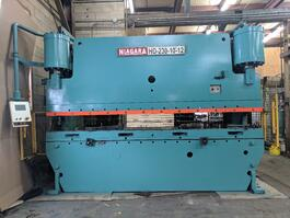 1988 Niagara HD 230 10-12 Hydraulic Press Brake (#3105)