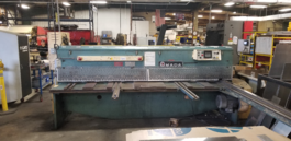 Amada M-3045 Mechanical Power Squaring Shear (#3107)