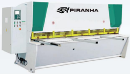 NEW Piranha 1/4-10 CNC Hydraulic Shear (#3108)