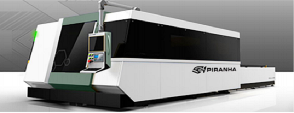 Piranha L510 Fiber Laser Cutting System (#3111)