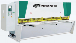 NEW Piranha 1/2-10 CNC Hydraulic Shear (#3116)