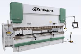 NEW Piranha 135-10 Precision Hydraulic Press Brake (#3134)