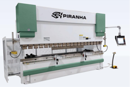 NEW Piranha 135-10 Precision Hydraulic Press Brake (#3134)