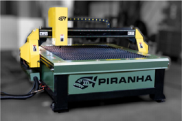 NEW Piranha C404 4X4 Plasma Cutting System W/ Tube Cut. (#3144)