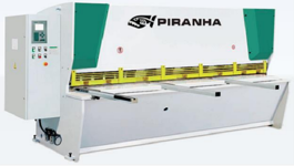 Piranha 135-13 Hydraulic Press Brake (#3146)
