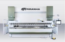 NEW Piranha 220-13 Hydraulic Press Brake (#3148)