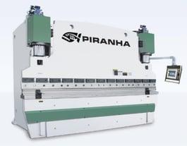 NEW Piranha 350 X 10' Hydraulic Press Brake (#3152)
