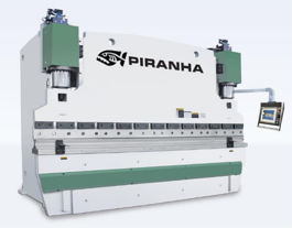 NEW Piranha 350 X 10' Hydraulic Press Brake (#3152)