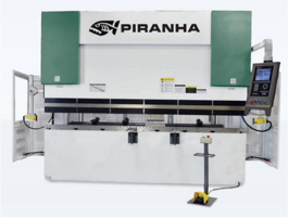 NEW Piranha 40-04 Hydraulic Press Brake (#3155)