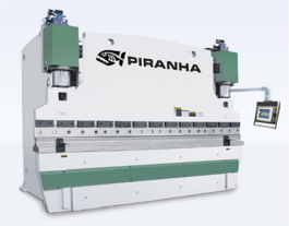 NEW Piranha 350-13FF Hydraulic Press Brake (#3160)