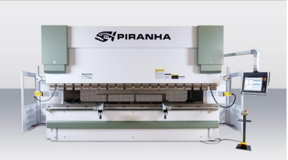 NEW Piranha 180-13 Hydraulic Press Brake (#3162)