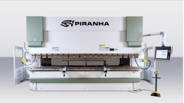 NEW Piranha 180-13 Hydraulic Press Brake (#3162)