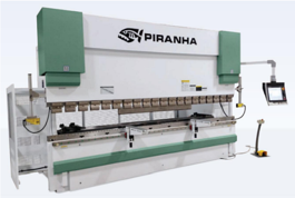NEW Piranha 180-10 Hydraulic Press Brake (#3164)