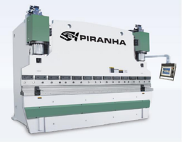 Piranha 350-13 Hydraulic Press Brake (#3167)