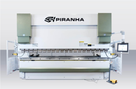 NEW Piranha 280-10 Hydraulic Press Brake (#3183)