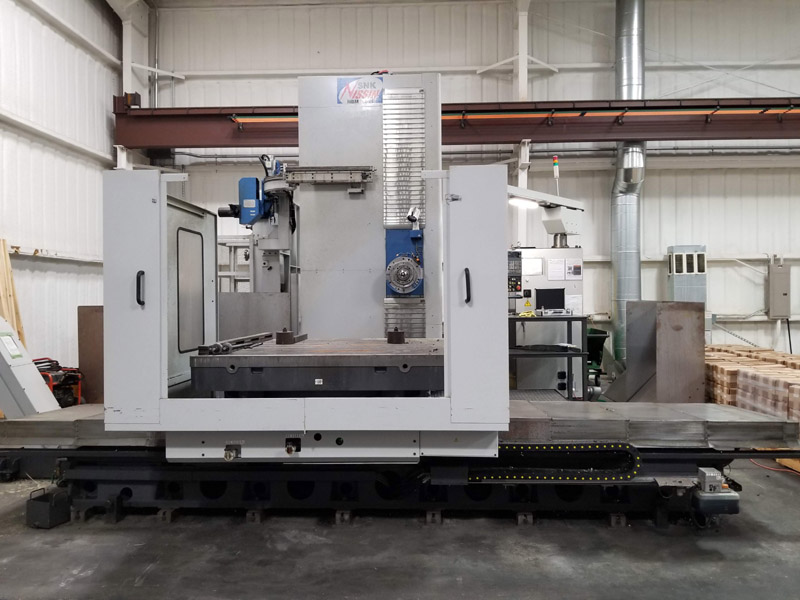 2013 SNK Nissin BP130-3.0 Horizontal  Boring Mill (#3187)