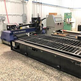 2016 C&G Systems Aviator DXD 4' x 8' Plasma Cutting System (#3192)