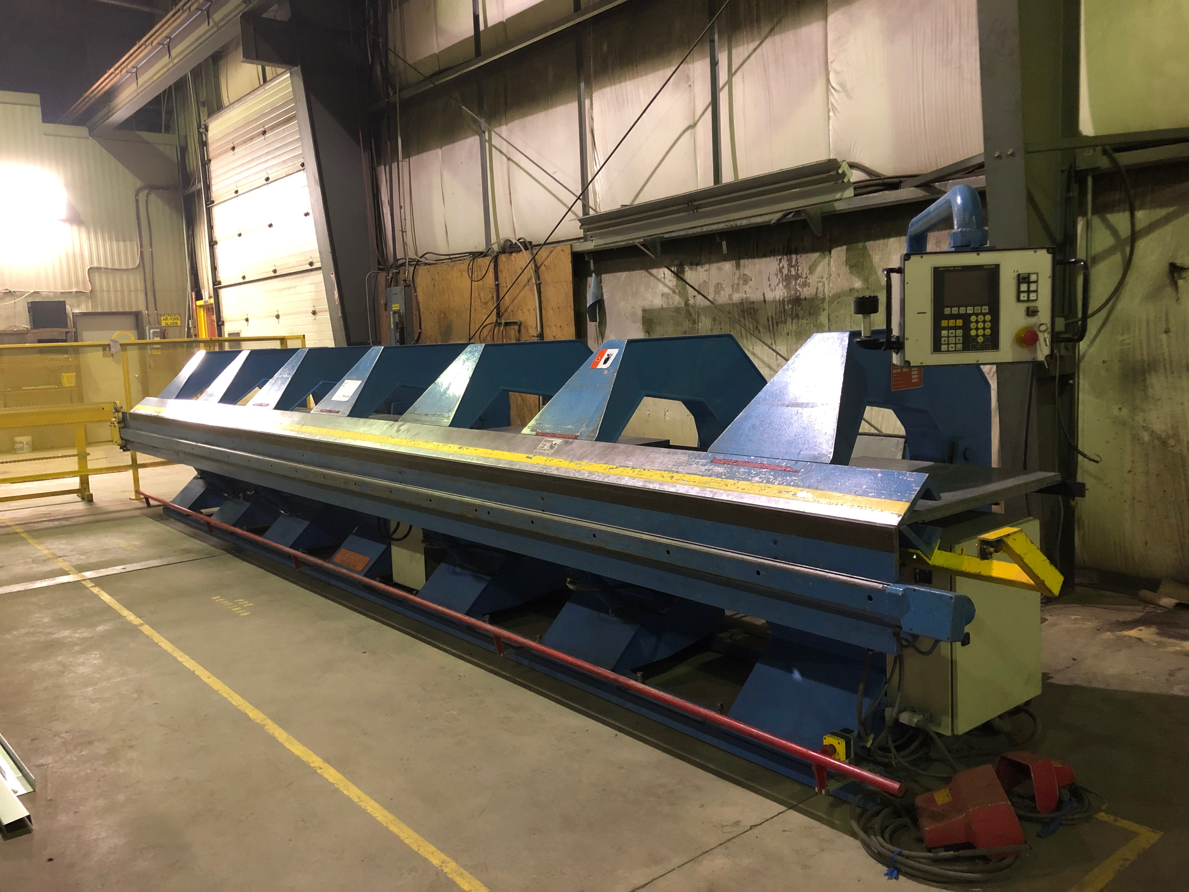 1999 Jorns Norma Line 125-SO CNC 400A HS Folding Machine - (#3228)