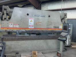 2006 Accurpress 725012 CNC Hydraulic Press Brake (#3234)