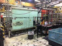 1990 UBE ST 1300 Injection Molding Machine (#3239)