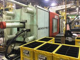 1990 UBE ST 1300 Injection Molding Machine (#3240)