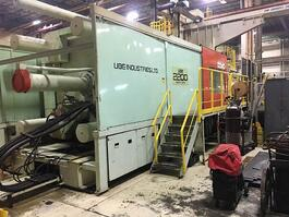 1990 UBE ST 2200 Injection Molding Machine (#3241)