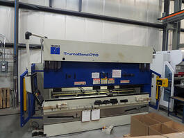 2005 Trumpf Trumabend C110 CNC Hydraulic Press Brake (#3255)