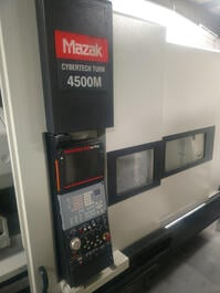 2006 Mazak Cyberturn 4500M CNC Turning Center (#3256)