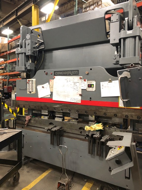 Cincinnati 90CBII Hydraulic Press Brake (#3274)
