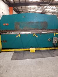 Roto-Die Model 10 Hydraulic Press Brake (#3310)