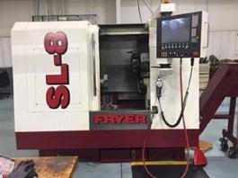 2010 Fryer SL-8 CNC Lathe (#3341)