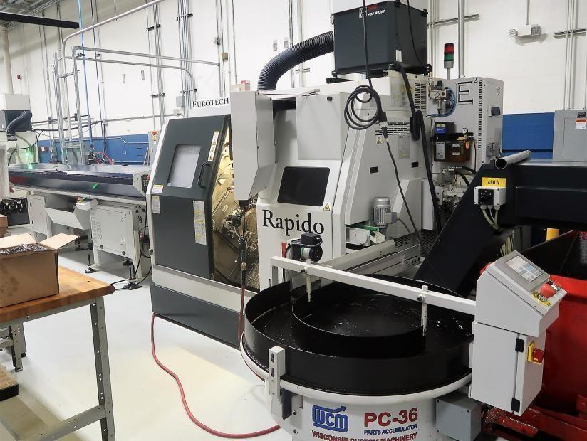 2015 Eurotech Rapido B436 SY2 CNC Turning Center (#3342)