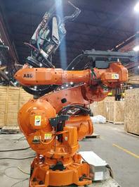 ABB 6640 M2004 Robotic Welding System (#3376)
