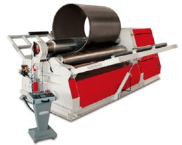 Akyapak AHS 12/04 4-Roll Plate Roll (#3389)